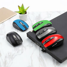 2.4GHz High Quality Wireless Optical Mouse/Mice + USB 2.0 Receiver for PC Black