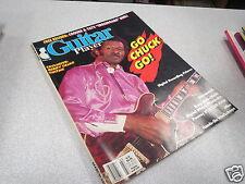 REVUE MAGAZINE MUSIQUE GUITAR PLAYER 3 1988 BERRY TALK GUITAR *
