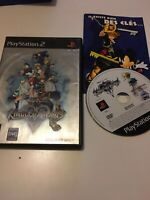 ❤️ Jeu Playstation 2 Ps2 pal fr disney kingdom hearts 2 avec pub mickey