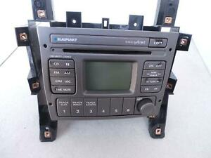 HOLDEN COMMODORE BLAUPUNKT SINGLE DISC CD PLAYER, VY1-VZ, 10/02-09/07