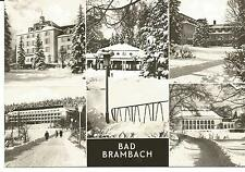 Foto AK Bad Brambach, Vogtland, Mehrbild, Kuranlagen 1973 (Großformat)