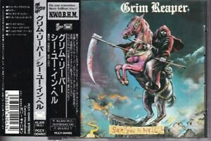 GRIM REAPER-See you in hell JAPAN 1st press CD with OBI 1993