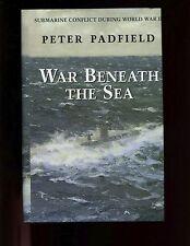 dm- WAR BENEATH THE SEA - Submarine Conflict during World War II.,1st US HB/dj
