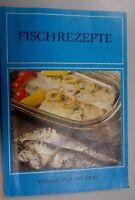Fischrezepte, Verlag für die Frau 4. Auflage 1980/DDR-Kochbuch~~schön erklärt!!!