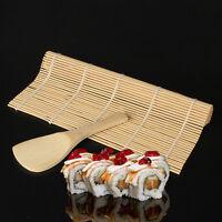 Sushi Maker Kit Rice Roll Mold Kitchen DIY Mould Roller Mat Rice Paddle Chef Set