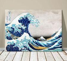 """Beautiful Japanese Sea Art ~ CANVAS PRINT 8x10"""" ~Hokusai Great Wave Kanagawa #2"""