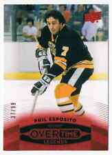 2015-16 UPPER DECK OVERTIME RED PHIL ESPOSITO 37/99 BOSTON BRUINS #43