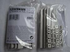 * Fleischmann 6911 10 pieces of Straight Connecting Sections