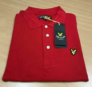 Lyle and Scott Polo Short Sleeve Plain Collar For Mens