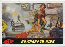 Mars Attacks Invasion Heritage Parallel Base Card #23