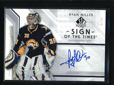 RYAN MILLER 2006/07 06/07 SP AUTHENTIC SIGN OF THE TIMES AUTOGRAPH AUTO AB5750