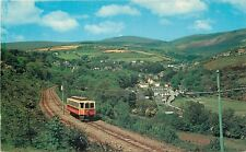 s10119 Laxey Valley, Snaefell Mountain Railway, Isle of Man postcard unposted