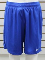 Women's Nike Dri-Fit Equalizer Soccer Shorts Royal Blue Brand New With Tags