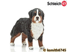 Schleich BERNESE MOUNTAIN DOG solid plastic toy farm pet female animal * NEW *💥