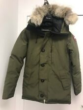 Canada Goose Chateau Parka Jacket Small S Olive Military Green Coyote Fur 3426M