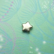 New Silver Star Jewel Charm for Floating Memory Living Locket Necklaces