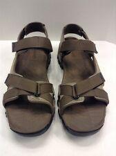 Timberland Eldridge Sandal Gray Grey Leather Men's US 10 EU 44 5822A NIB New