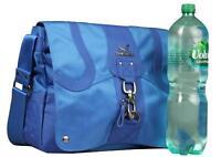 Sansibar Cyclone Messenger Handtasche Überschlagtasche Tasche Bag Taschen  blau