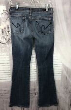 Citizens Of Humanity Womens Flare Jeans Sz 27x31 Ingrid #002 Low Rise ☑U