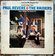 Paul Revere & The Raiders - Just Like Us! LP - Vinyl Record Album