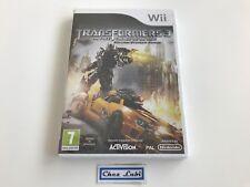 Transformers 3 La Face Cachée De La Lune - Nintendo Wii - FR - Neuf Sous Blister