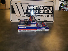 Lot 8 x Spark Plug Conventional ACDelco R44LTSM 19302729