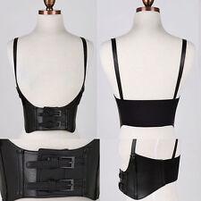 Women Western Fashion Wide Corset Suspend High Waist Stretch Elastic Belt