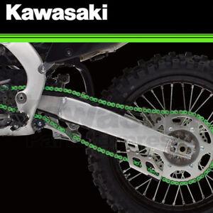 NEW 2004 - 2021 GENUINE KAWASAKI KX KFX 250F 450F RK EXW/GXW GREEN RACING CHAIN