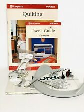 NOS Husqvarna Lily Quilting Sewing Machine Feet Attachments Manual & Parts Lot