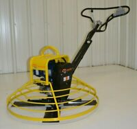 "Electric Power Trowel walk-behind concrete 36"" cement Packer Brothers 110 volt"