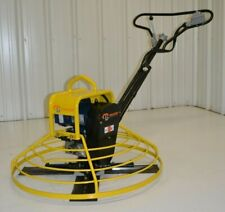 """Electric Power Trowel walk-behind concrete 36"""" cement Packer Brothers 110 volt"""