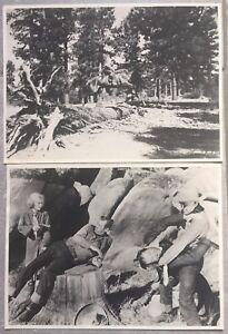 2 Photos Apache Cheval de La Death The Devil Horse Harry Carey Western 1932