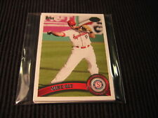 2011 TOPPS PRO DEBUT TEXAS RANGERS TEAM SET 6 CARDS