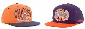 NEW NFL Chicago Bears NFL Direct Fake Snap Snapback Cap Hat Flat Brim