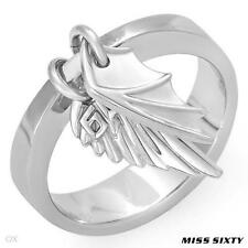 MISS SIXTY Made in Italy Wings Collection Ring Made in Stainless steel.