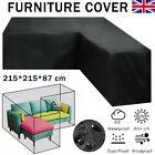 Weatherproof Garden Rattan Corner Furniture Cover Outdoor Sofa Protect L-shape