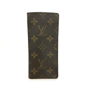 Louis Vuitton Monogram Etui a Lunettes Simple Glasses Case/A2468
