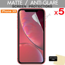 "5 Pack of ANTI-GLARE MATTE Screen Protector Covers for Apple iPhone XR (6.1"")"