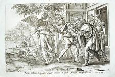 c1600 Tobias Engel Raphael Altmeistergraphik Hund Kupferstich Vischer de Vos