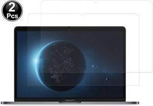 2 Clear Screen Protector for MacBook Pro 16 inch with Touch Bar A2141 2019 Rel