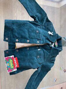 Levi's 1970s seventies NEW ORIGINAL VINTAGE corduroy jacket for kids 8 years