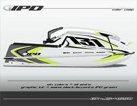 IPD Jet Ski Graphic Kit for Kawasaki 440 & 550 (JS Design)