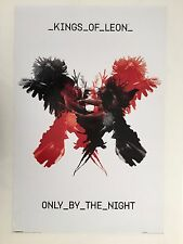Kings Of Leon,Only By The Night,Music Band, Rare Authentic 2008 Poster