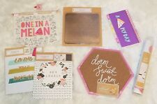 LOT of 11 College Dorm Supplies Corkboard MousePad Planner & Wall Decor (DSDG)