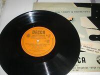 "Mendelssohn Concerto For Violin & Orchestra Campoli 10"" Vinyl LP Decca LX.3001"