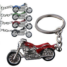 4 Colors 3D Model Motorcycle Key Chain Metal Bike Car Key Ring Best Gift Jewelry