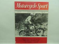 Mar 1975 Motorcycle Sport Magazine Kawasaki 350 KSS Velocette Ducati B271