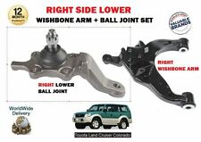 FOR TOYOTA LANDCRUISER COLORADO 1996->NEW RIGHT LOWER WISHBONE ARM + BALL JOINT