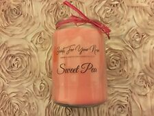 Sweet Pea Scented Candle 26 oz Jar