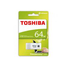 Toshiba USB Flash 64GB Hayabusa USB 3.0 Flash Drive White U301 THN-U301W0640A4